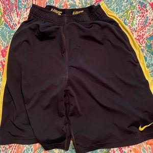 Nike Dri-fit shorts.  Size Men's Large, Navy